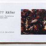 Einband des Naturführers; erfundene Käfer
