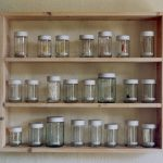 23 glass containers