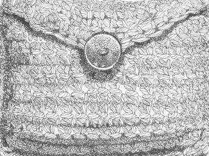 Kunst Zeichnung Tusche Alltagsgegenstand