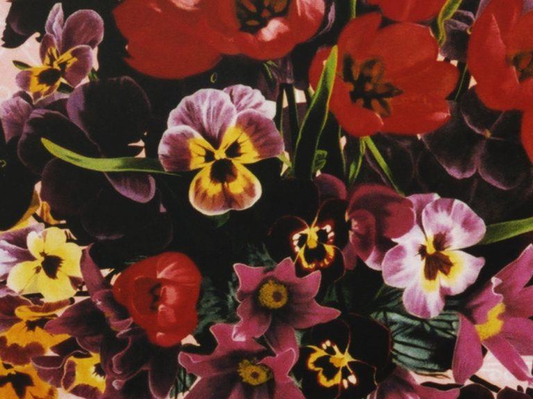 Kunst Malerei Acryl altmeisterlich Blumen Stillleben