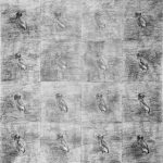 drawin, pencil on paper, small format, repetition, birds