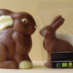 photographs, conceptual art, chocolate, humor, easter bunnies